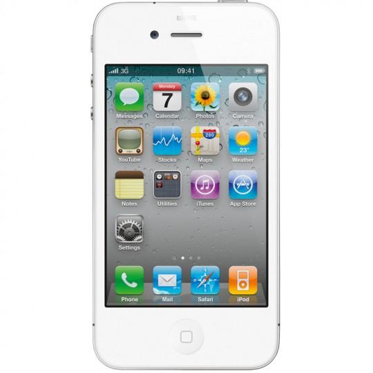 Мобильный телефон Apple iPhone 4 16Gb (белый)