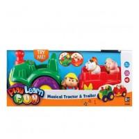 Keenway Музыкальная игрушка Трактор и трейлер 31222