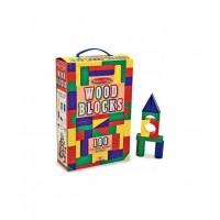 Melissa & Doug Набор цветных блоков (100 дет.) (10481)